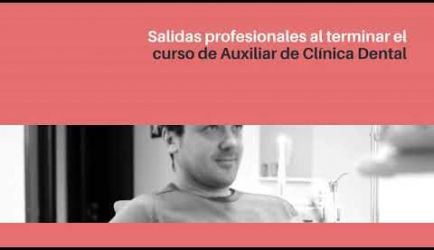 Las salidas laborales en las que ejercerás al titularte de Auxiliar de Clínica Dental