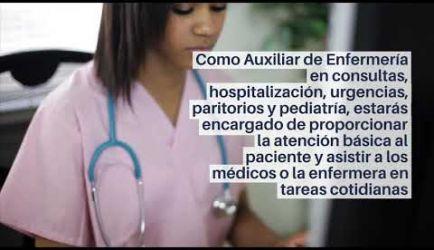 Las salidas profesionales que ofrece el Ciclo Formativo de Grado Medio de Auxiliar de Enfermería