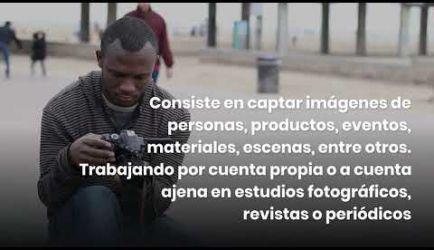 Las salidas profesionales en las que podrás ejercer al graduarte del Curso a Distancia de Fotografía Digital Profesional