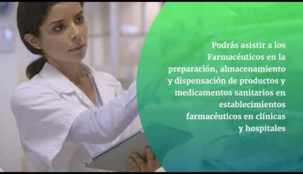 Las salidas laborales en las que ejercerás al graduarte de Auxiliar de Farmacia
