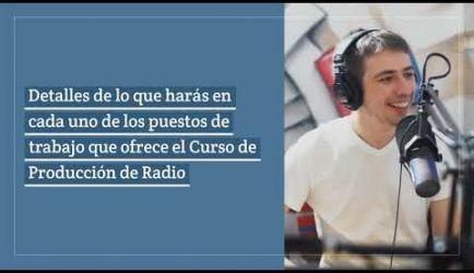 ¿Dónde puede ejercer un titulado a Distancia el Curso de Producción de Radio? Te proporcionamos todos los detalles