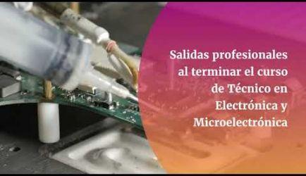 Las salidas laborales en las que podrás desarrollarte como Técnico en Electrónica y Microelectrónica