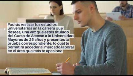 Las salidas laborales en las que ejercerás al titularte del Curso de Acceso a la Universidad Mayores de 25 años