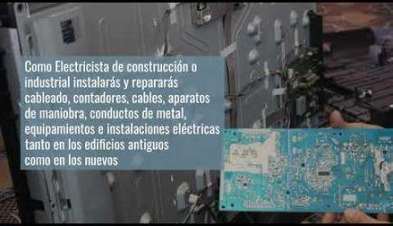 Los puestos de trabajo que ofrece el Curso de FP Instalaciones Eléctricas y Automáticas