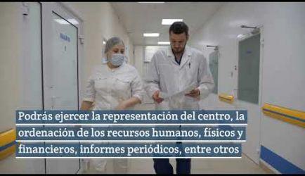 Los puestos de trabajo que ofrece el Curso de Gestión de Centros Sanitarios al titularte